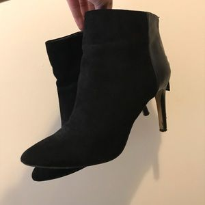 Express Stiletto heel pointy back boots